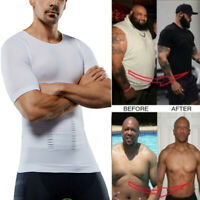 Shapewear Slimming Body Shaper Vest Abdomen Shirt For Men Chest Compression Top