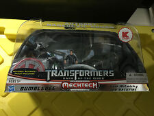 Transformer DOTM Mechtech Human Alliance Bumblebee Sam Witwicky & Backfire NIB!