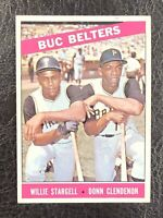 1966 Topps Willie Stargell Donn Clendenon Buc Belters #99 NM Pirates