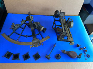 18th Century Navy Nautical Sextant, made in Paris France &  US Navy BU Ships 42'
