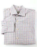 Peter Millar Men's Size Medium Plaid Button Down Long Sleeve Shirt