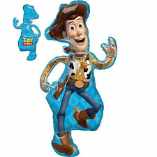 Toy Story 4 Woody SuperShape Foil Balloon by AMSCAN, requires helium