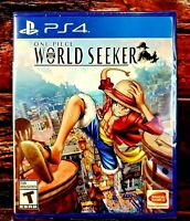 One Piece World Seeker - PS4 - Sony PlayStation 4 - Brand NEW - Sealed