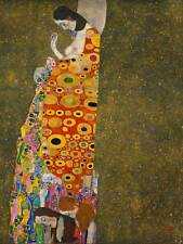 Cultural Gustav Klimt Hope Abstracto secesión simbolismo cartel Art Print BB653B