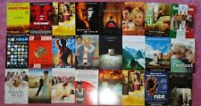 Huge LOT of 123 Movie PROMO Postcards Cards GREAT HTF Collection of 2000-Movies!