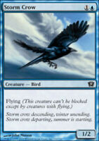 Storm Crow - Foil - 9th Edition - LP, English MTG Magic FLAT RATE SHIP