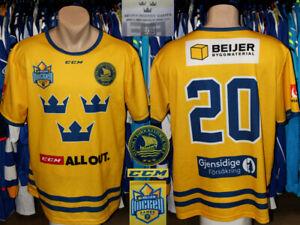 Beijer Hockey Games Sweden #20 Supporter Fan Official Shirt Jersey Trikot