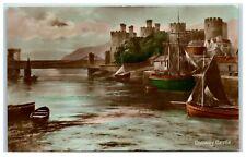 Postcard Conwy Castle Wales