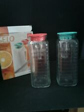 Bormioli Rocco Gelo Fridge Jugs Made In Italy Nib
