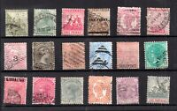 British Commonwealth QV unchecked collection WS21058