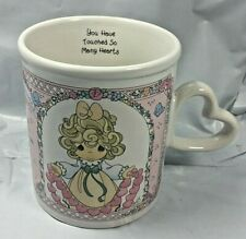 Precious Moments Mug 1996 You Have Touched So Many Hearts Enesco Valentines Day