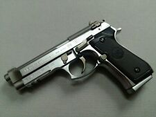 M92F PISTOL,  SILVER COLOR, SMALL SIZE DISPLAY MODEL, METAL