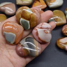 Natural Heart-shaped Energy Stone Sea Stone Ancient Rock Specimen Healing