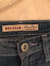 Buckle Brand Big Star Womens Jeans  Sweet Boot Bootcut 26 Extra long
