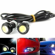 2x Yellow DC12V 15W Eagle Eye LED Daytime Running DRL Backup Light Car Auto Lamp
