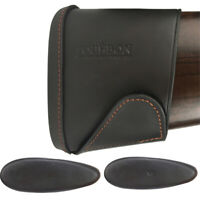 Tourbon Leather Slip-on Recoil Pad Rifle/Shotgun Buttstock Extension Large/Small