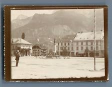 France, Haute Savoie, Sallanches, Excursion à Chamonix   Vintage citrate print.