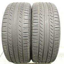 Two Used 255/45R20 2554520 Michelin Premier LTX AO AUDI 7/32 1A25