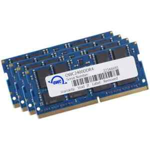 64GB OWC PC4-19200 2400MHz DDR4 CL17 SO-DIMM Memory Kit (4 x 16GB)