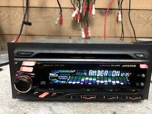 Rare Alpine CDA-D852 1.5DIn 1 Bit DAC High Quality Car Audio AUX