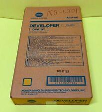 Konica Minolta Yellow Developer DV610Y for Bizhub Press C6000 C7000 C6501 OEM