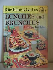 BETTER HOMES & GARDENS LUNCHES & BRUNCHES CREATIVE COOKING LIBRARY COOKBOOK 1963