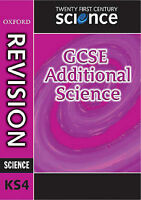 (Good)-Twenty First Century Science: GCSE Additional Science Revision Guide (Gcs