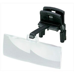 Eschenbach Clip-On Spectacle Magnifier 3.0X Powered Flip-ups, Clip on