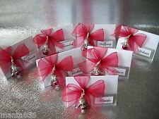 10 Kartonagen Dreieck für Gastgeschenke Tischkarten Hochzeit Taufe zum Befüllen