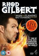 Rhod Gilbert Live - The Man With The Flaming Battenberg Tattoo (DVD, 2012)