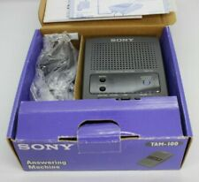 SONY TAM-100 Digital Telephone Answering Machine Message System Open Box