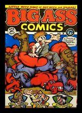 BIG ASS COMICS #2, 1979, ROBERT CRUMB, APEX NOVELTIES UNDERGROUND COMIC