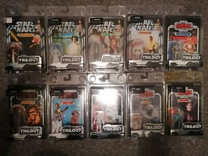 Star Wars The Trilogy Collection Job Lot 10x Action Figures (not Vintage) New