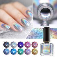 6ml BORN PRETTY Deluxe Holographicss Nail Polish Glitter Nail Art Varnish Decor
