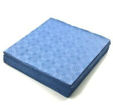 25 x Royal Blue Disposable Table Cloths Parties Weddings Table Covers 90x88cm