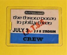 RICK JAMES ( THE THROW DOWN IN PHILLY TOWN ) VINTAGE  BACKSTAGE  PASS