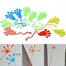 10 Pcs Kids Party Favour Mini Sticky Jelly Stick Slap Squishy Hands Toy US