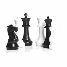 """Giant Plastic Chess Set with a 16"""" King - Outdoor Chess Set"""