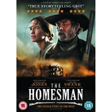 The Homesman DVD R2 PAL 2015 Tommy Lee Jones Hilary Swank Watched Once