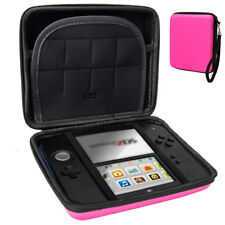 Carry Storage Hard Protective Case Cover for Nintendo 2ds Game With Zip Pink