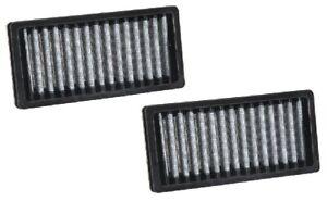 K&N Cabin Pollen Air Filter VF1010 fits Jeep Wrangler 2.8 CRD (JK), 3.6 V6 (J...