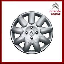 """Origine Citroen C1 C2 C3 Acier 14"""" Enjoliveur de roue/bouchon de valve (Prima) x1"""