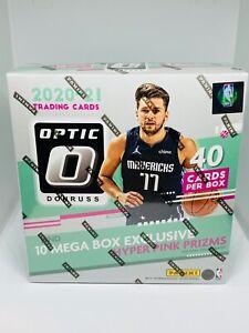 2020-21 Panini Donruss Optic NBA Basketball Mega Box Brand New Factory Sealed