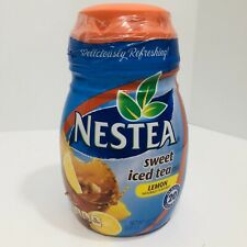 Nestea Sweet Iced Tea Mix Lemon Instant 20 Quarts 45.1oz New Sealed