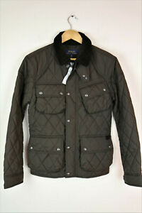 Polo Ralph Lauren Mens Quilted Jacket  size XS ,RRP £345
