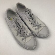 Converse womens shoes size 9 Off White