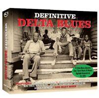DEFINITIVE DELTA BLUES  BO CARTER/ROBERT JOHNSON/ELMORE JAMES/+   3 CD NEU