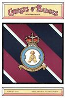 Postcard RAF Royal Air Force No.208 Squadron Crest Badge No.89 NEW