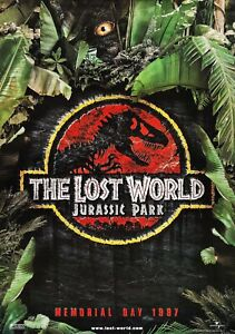 JURASSIC PARK LOST WORLD Classic 90's Vintage Movie Poster Wall Film Art Print