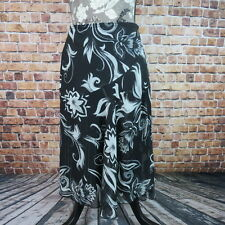 Wrapper Women  Skirt Floral Free Flow Elastic Waist